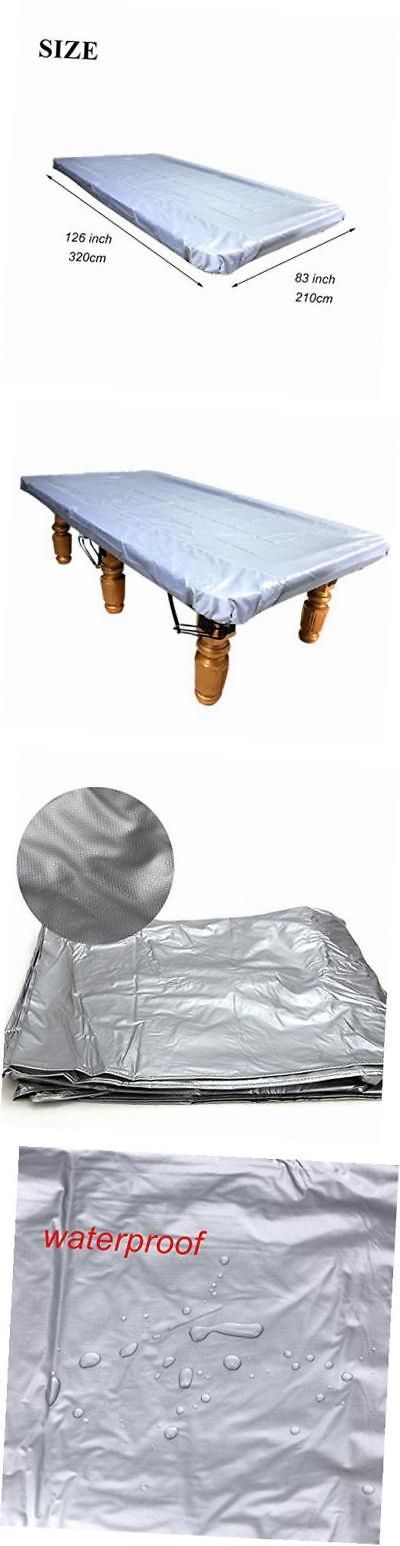 Table Covers 91569: Billiard Table Cover Pool Table Cover Waterproof Pvc  Cover For 9 Foot