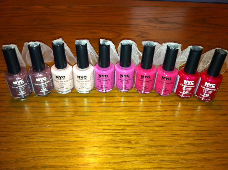 Nail Polish Bachelorette Favors Bacheloretteparty