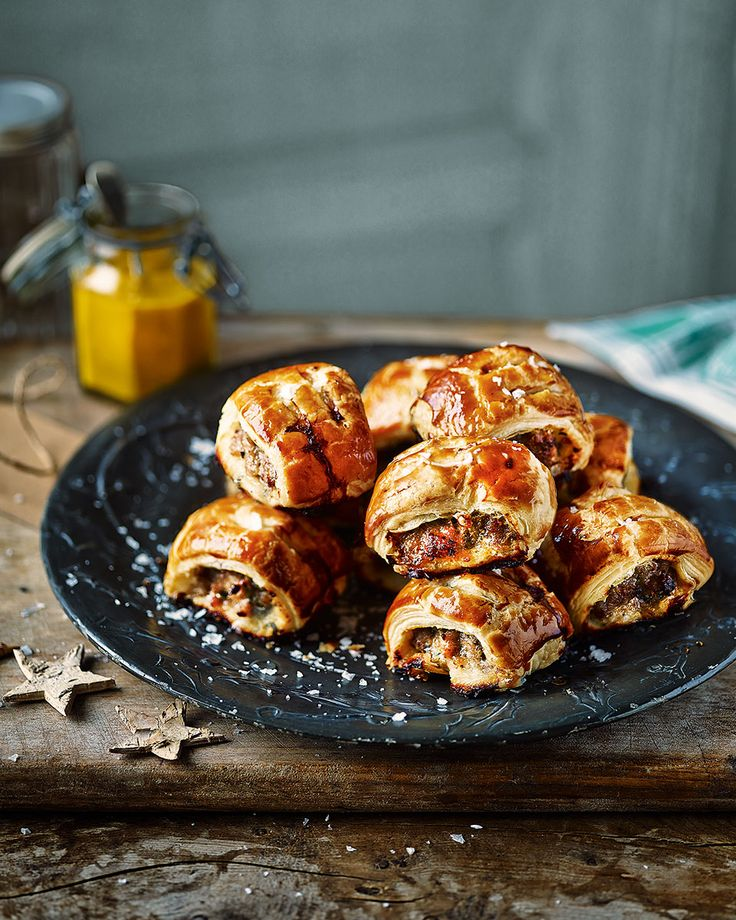 These mustard and tarragon sausage rolls are perfect party nibbles that never fail to impress.