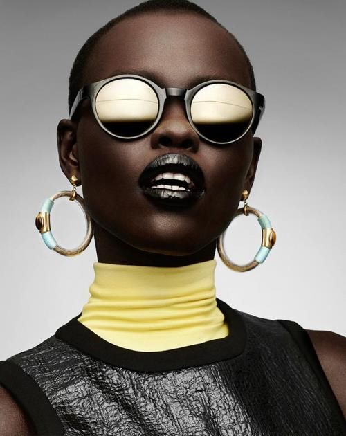 Grace Bol for Gravure Magazine  Editorial: Pure Plastic Art magazine   Photographed by Manolo Campion