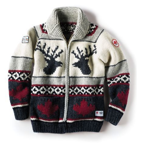 Google Image Result for http://theloophalifax.files.wordpress.com/2009/10/hbc-cowichan.jpg    canadian olympic cardigan 2010 winter games