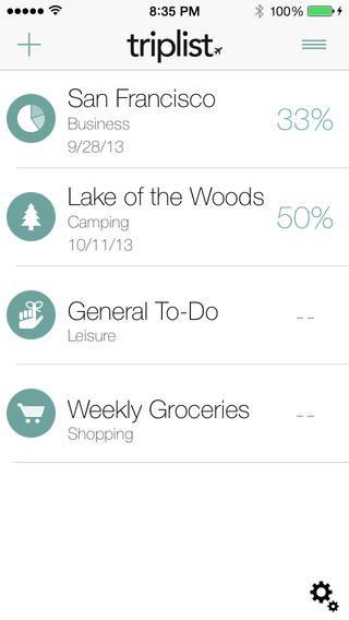 TripList - 패킹리스트 앱 Enabled Apps LLC 여행 가방 싸기