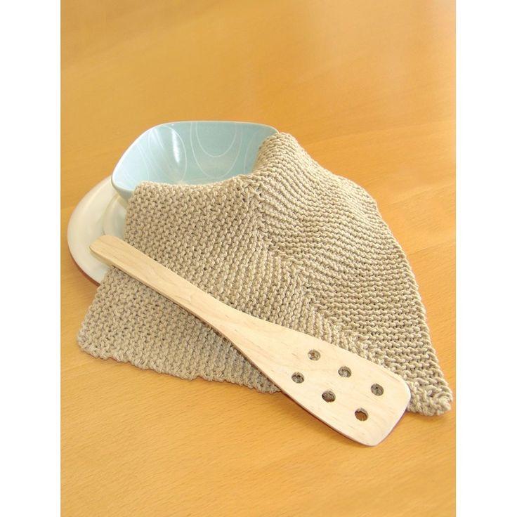 Mitered Dishcloth in Bernat Handicrafter Cotton Solids ...