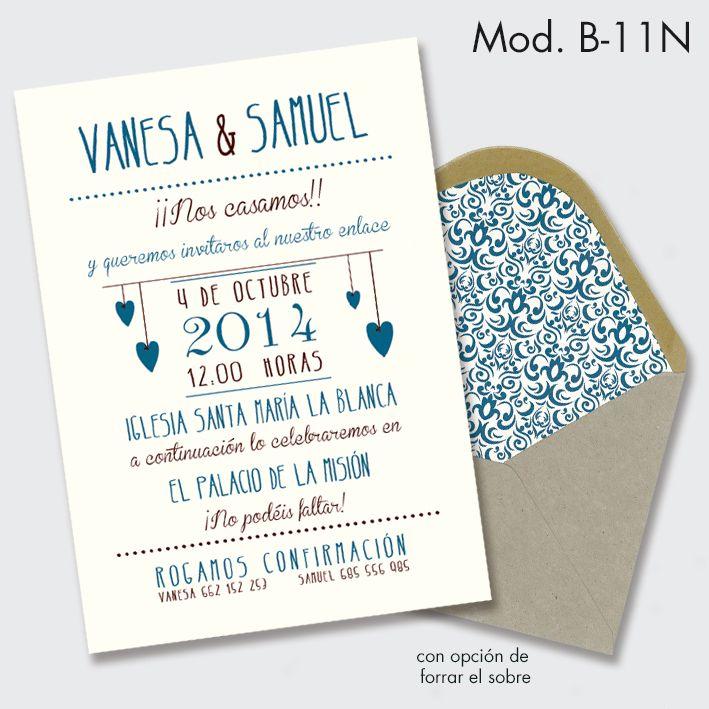 invitación de boda estilo vintage -1                                                                                                                                                                                 Más