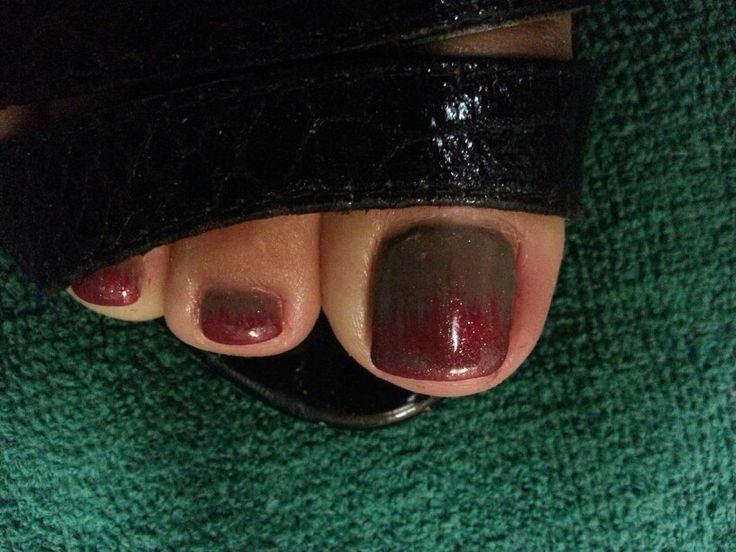 Fall shellac toes