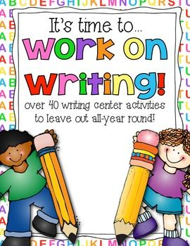 Wow! Lot's Of Writing Activities for ALL year!
