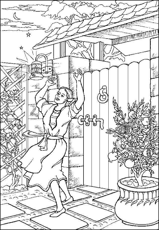 Peter In Prison Bible Story Pages Coloring Pages
