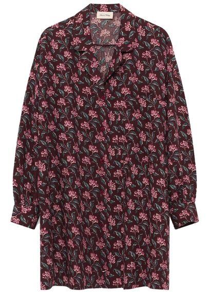 5b8f842fd6305 Robe courte col tailleur en laine et coton aubepine american vintage ...