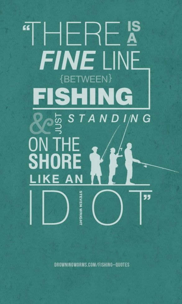Fishing Quotes.