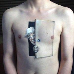 Spy - 3D body tattoos and paintings