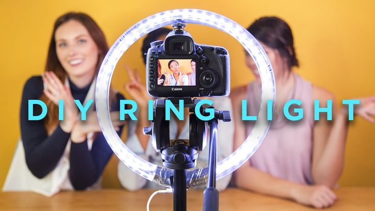 We sat down with the queen of all tech to DIY our very own ring light on a budget! See how it performs and learn a bunch of other lighting tips in Maya's vid...