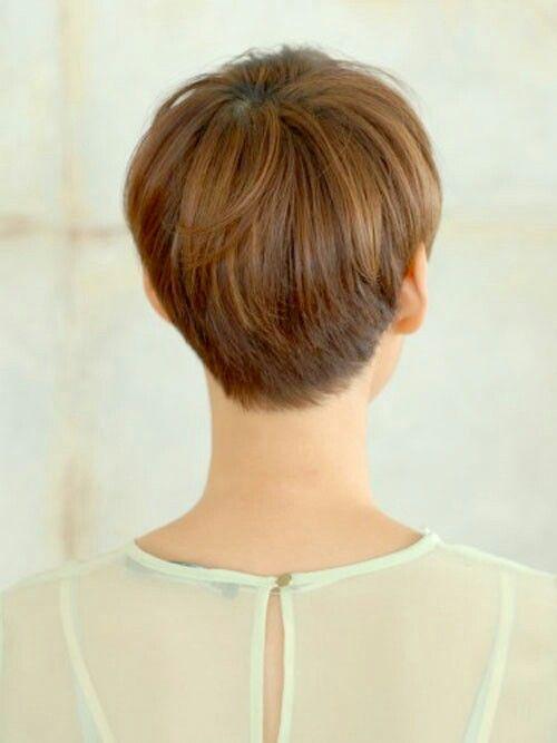 Back side pixie cut