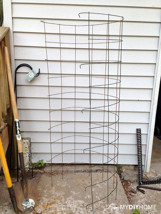 DIY Tomato Cages - Save the Maters!