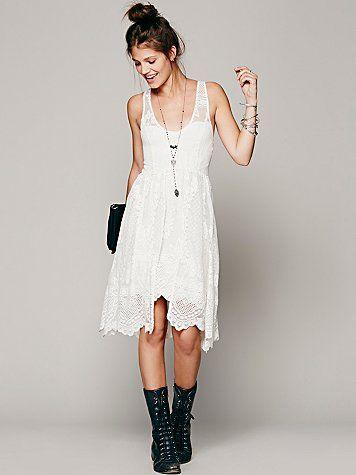 alinas Foil Dress