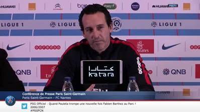 Press Conference Paris Saint-Germain - FC Nantes
