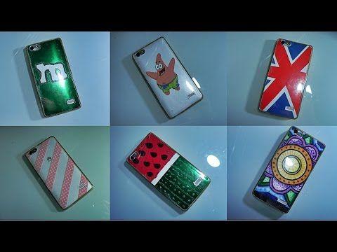DIY: Carcasas para móvil INTERCAMBIABLES