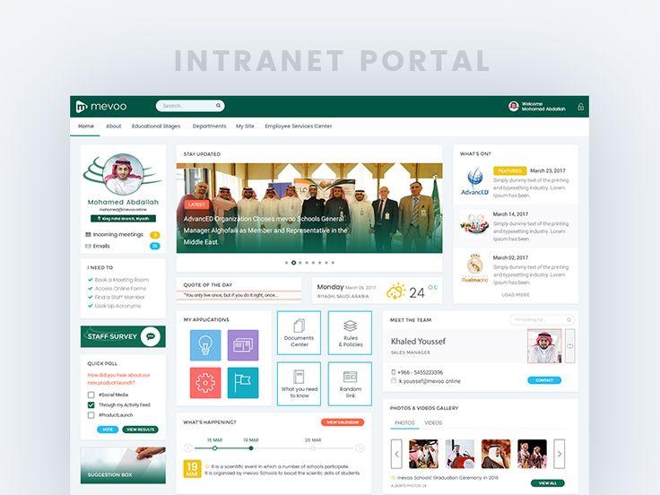 Intranet Portal by Chemseddine Abdallah