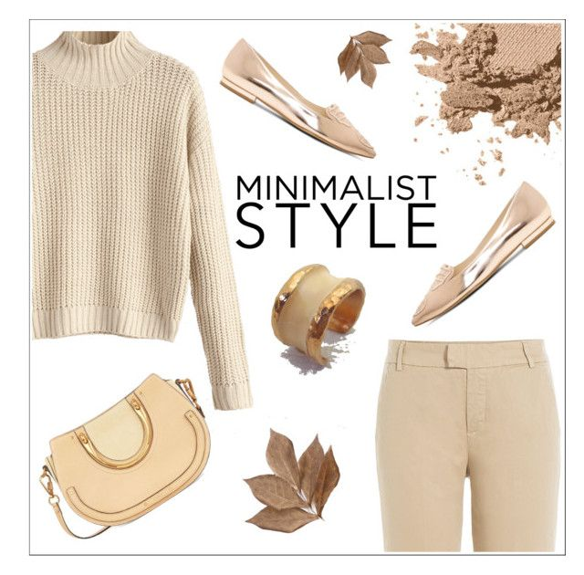 """""""BEIGE OUTFIT - EVANGELOS JEWELLERY"""" by evanangel on Polyvore featuring 7 For All Mankind, Sophia Webster, Bobbi Brown Cosmetics and Bliss Studio"""