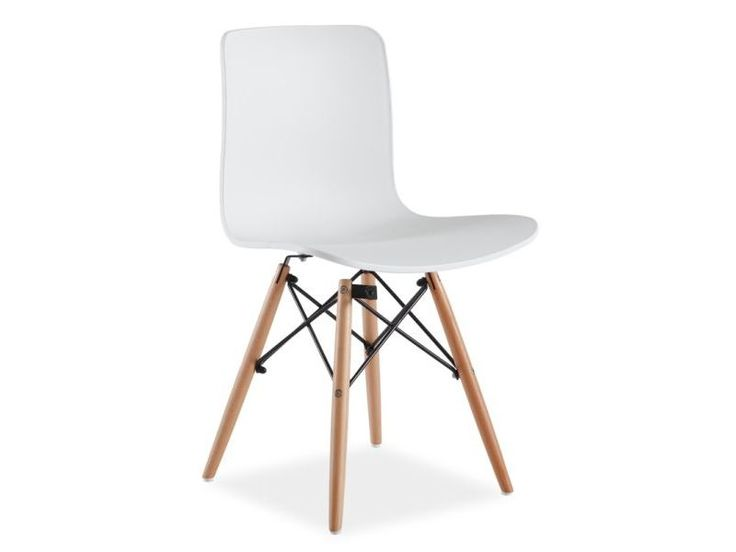 Krzesło CLIO, białe