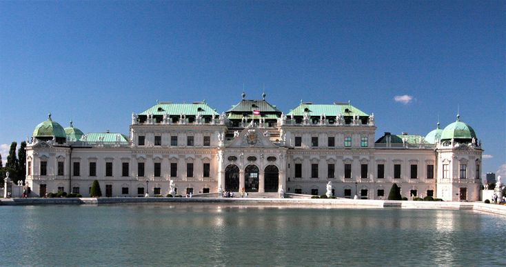 What to visit in Vienna? Belvedere Palace!