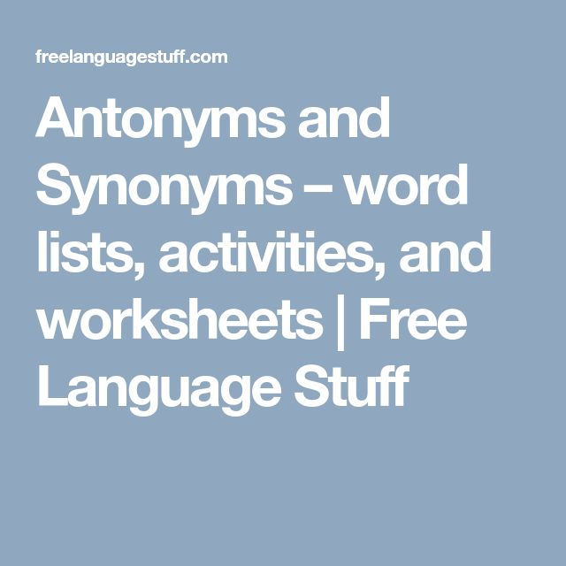 Best 25+ Antonyms words list ideas on Pinterest Synonyms for - synonym for resume