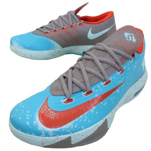 NIKE KD VI Kevin Durant Basketball Shoes 599424-400 Price: $174.00 - $300.00
