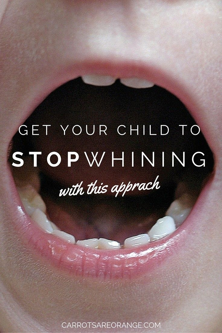 Learn about Parent Child Interaction Therapy as a way to not only stop whining in its tracks but better yet to improve your relationship with your child TODAY!