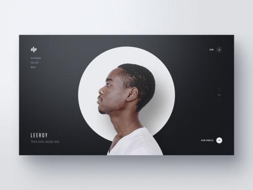 """dribbblepopular:  """"Designer Profiles — Part 3 http://ift.tt/2ln7QnB  """""""