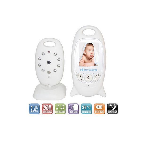¡¡¡ Nuevos Vigila Bebés !!! Con camara, infrarrojos, monitor de video en color,Termometro para medir la temperatura de la habitación.