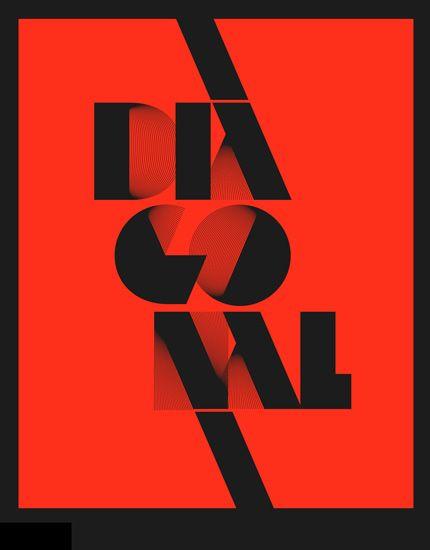 Design by Alex Trochut   diagonal lines