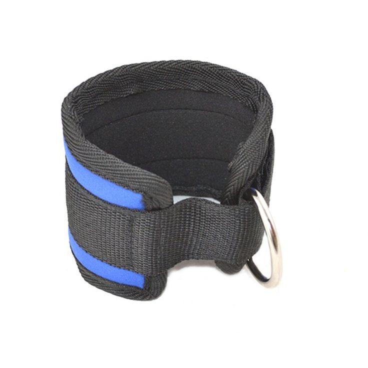 Cinturino alla caviglia D-ring Della Coscia Della Gamba Puleggia Palestra Sollevamento Pesi Multi Cavo di Fissaggio