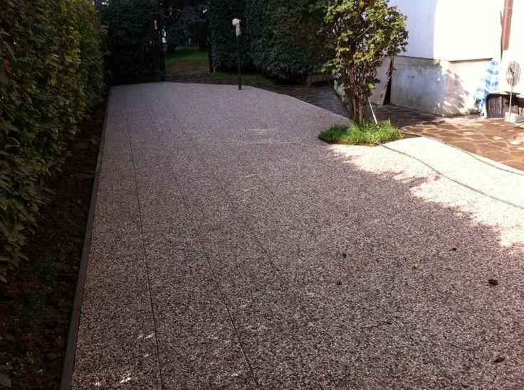 Oltre 25 fantastiche idee su pavimentazione da giardino su - Progetto per giardino ...
