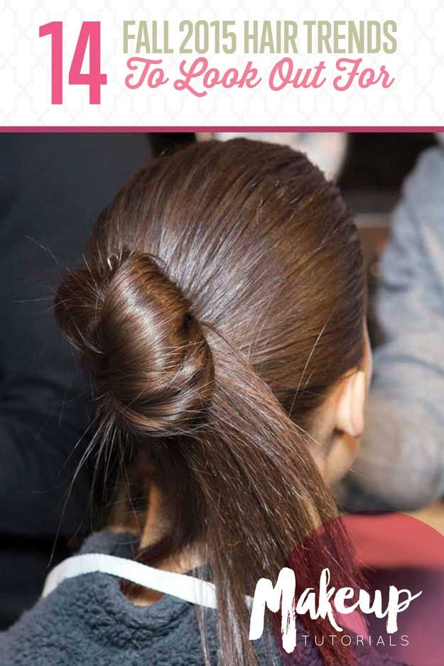 Check out 14 Fall 2015 Hair Trends To Watch Out For at http://makeuptutorials.com/fall-2015-hair-trends/