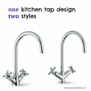 Kitchen Tap Review: one kitchen tap ~ two different kitchen taps styles (san marco venice & san marco dayton)