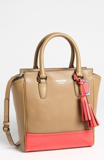 COACH 'Legacy Colorblock Tanner - Mini' Tote available at Nordstrom