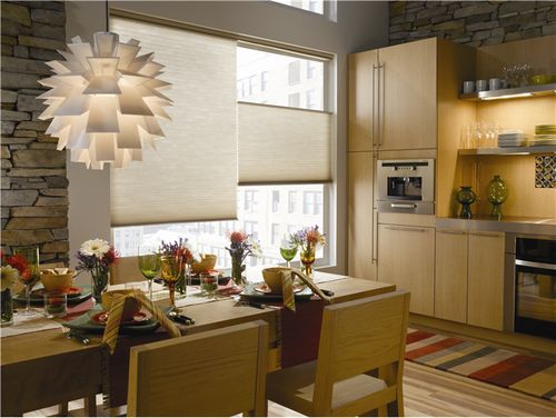 contemporary blinds and shades | Style Finder: Cellular Shades in a Modern Kitchen - The Finishing ...