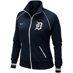 Woman's Detroit Tigers Baseball Jacket ~ Nike