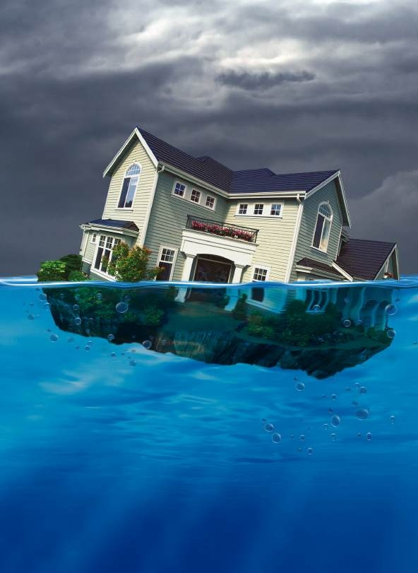 Underwater on your mortgage? Check our guide before you panic.