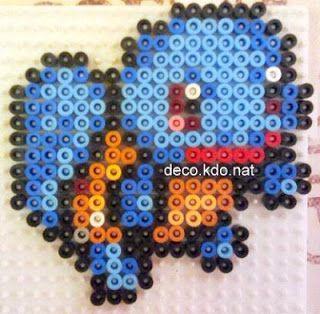 DECO.KDO.NAT: Perles hama: pokémon squirtle