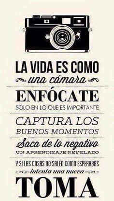 La vida en fotografía. The life in photography.