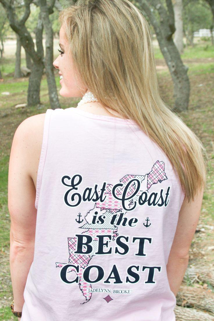 .East Coast Is The Best Coast - Tank