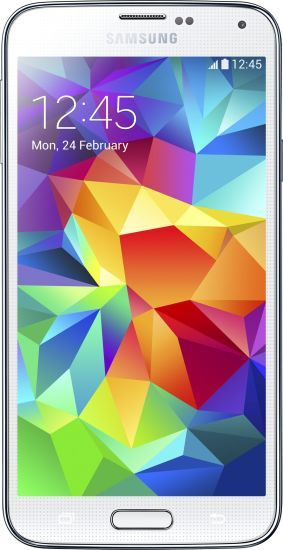 SAMSUNG GALAXY S5 ( WHITE 16 GB ) OF 21999 AT JUST 16999 RS ONLY ~ Www.Trickloot.in