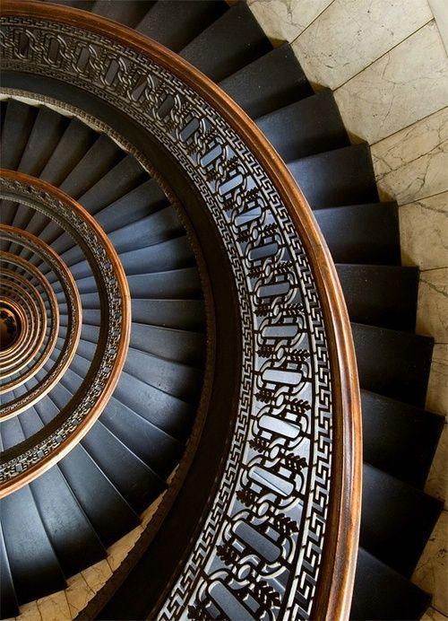 black stairs Más