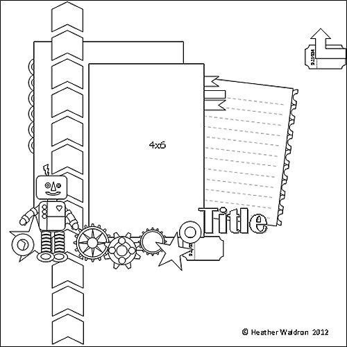 Scrappy Sketches: Mid Week Sketch 33-12