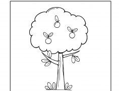 1 Almafa - Szám gyakorló gyerekeknek