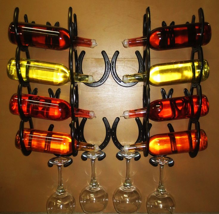 8 Bottle Wall Wine Rack