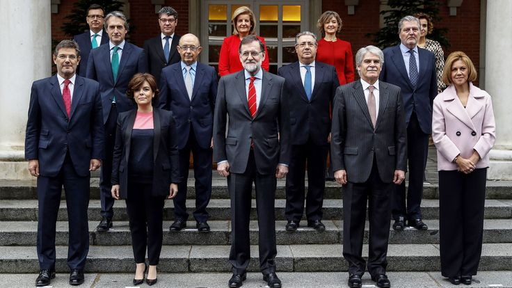 Primera foto oficial del 'nuevo' Consejo de Ministros tras la incorporación de Román Escolano