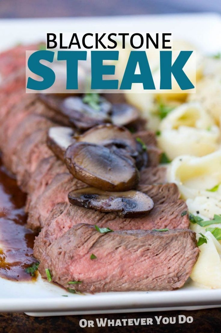 Blackstone griddle steak recipe grilling recipes