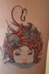 mermaid tattoo | Nautical Tattoo Sleeve | Pinterest