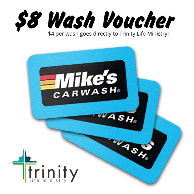 Mike's Express Car Wash Fundraiser - Trinity Life Ministry